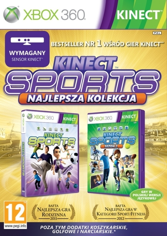 Kinect Sports Najlepsza Kolekcja PL / Kinect Sports Ultimate Collection (Xbox 360)